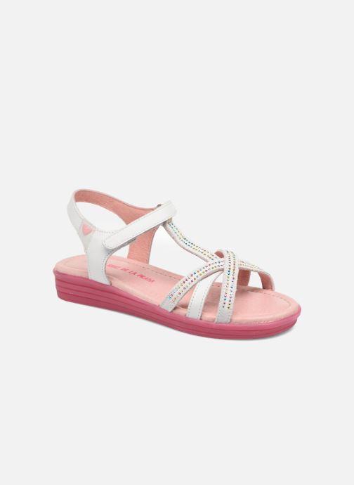 Sandales et nu-pieds Agatha Ruiz de la Prada Diva 2 Blanc vue détail/paire