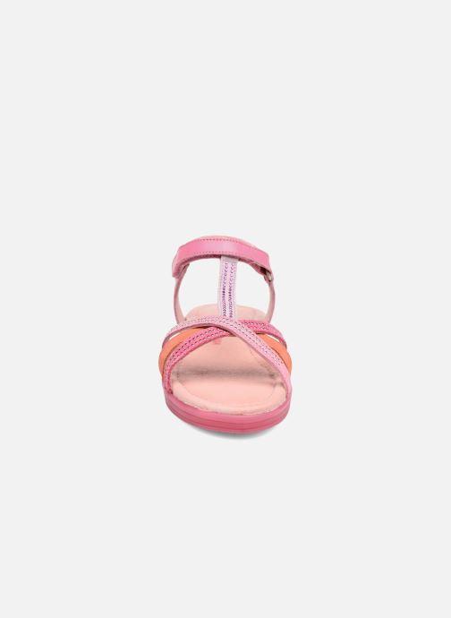 Sandalen Agatha Ruiz de la Prada Diva 2 rosa schuhe getragen