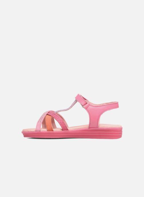 Sandales et nu-pieds Agatha Ruiz de la Prada Diva 2 Rose vue face