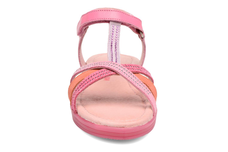 Sandales et nu-pieds Agatha Ruiz de la Prada Diva 2 Rose vue portées chaussures