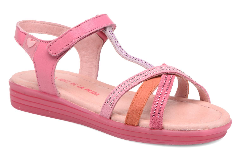 Sandales et nu-pieds Agatha Ruiz de la Prada Diva 2 Rose vue détail/paire