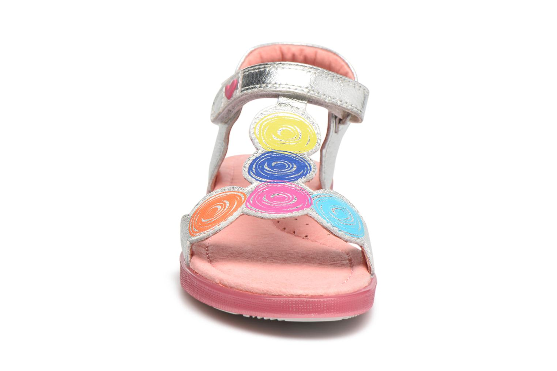 Sandals Agatha Ruiz de la Prada Swing 2 Silver model view