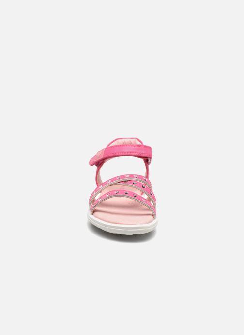 Sandales et nu-pieds Agatha Ruiz de la Prada Beauty Rose vue portées chaussures