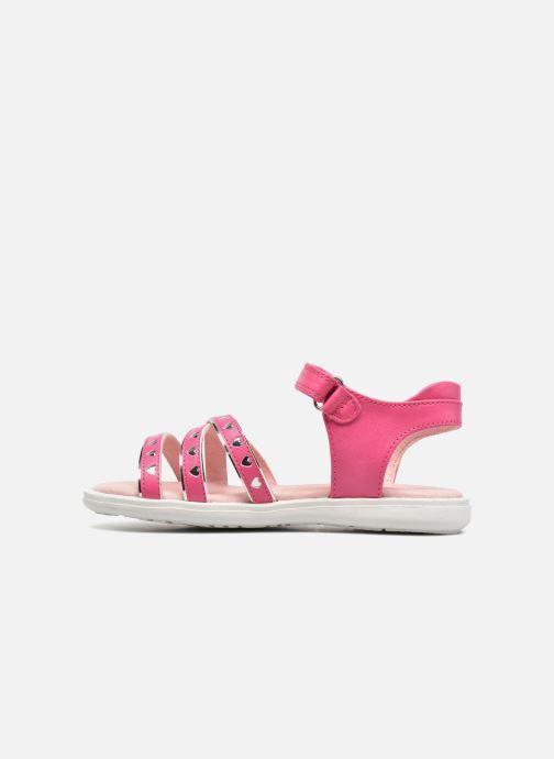 Sandales et nu-pieds Agatha Ruiz de la Prada Beauty Rose vue face