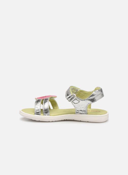 Sandales et nu-pieds Agatha Ruiz de la Prada Beauty Argent vue face