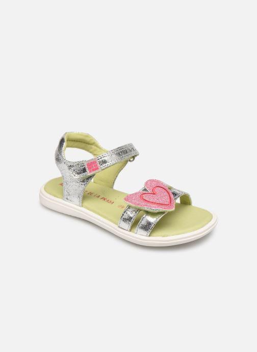 Sandals Agatha Ruiz de la Prada Beauty Silver detailed view/ Pair view