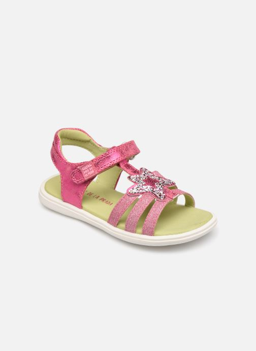 Sandals Agatha Ruiz de la Prada Beauty Pink detailed view/ Pair view