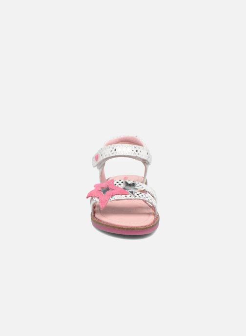 Sandales et nu-pieds Agatha Ruiz de la Prada Miss Ponza 2 Blanc vue portées chaussures
