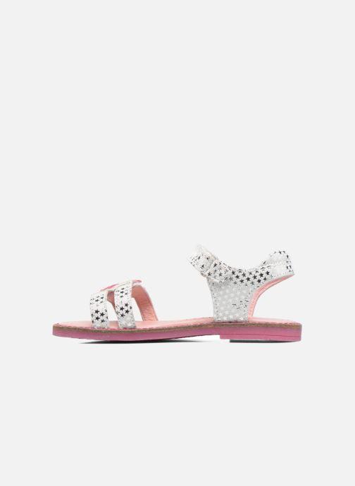Sandales et nu-pieds Agatha Ruiz de la Prada Miss Ponza 2 Blanc vue face