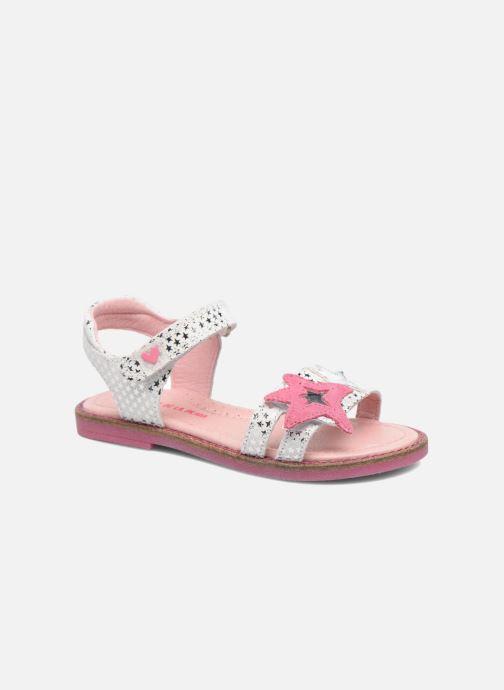 Sandales et nu-pieds Agatha Ruiz de la Prada Miss Ponza 2 Blanc vue détail/paire