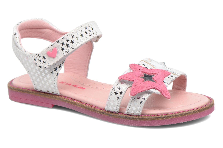 Sandaler Agatha Ruiz de la Prada Miss Ponza 2 Hvid detaljeret billede af skoene