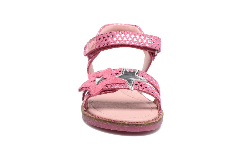 Sandalen Agatha Ruiz de la Prada Miss Ponza 2 rosa schuhe getragen