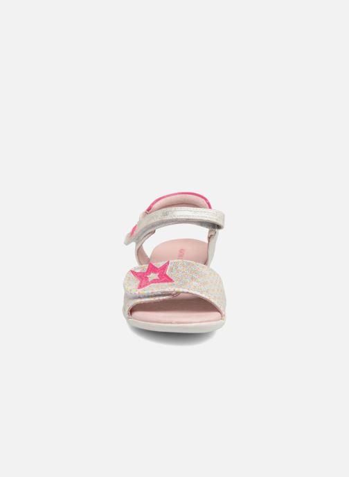 Sandales et nu-pieds Agatha Ruiz de la Prada Clever 3 Argent vue portées chaussures