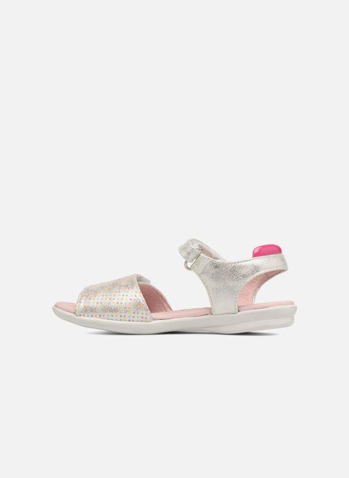 Sandali e scarpe aperte Agatha Ruiz de la Prada Clever 3 Argento immagine frontale