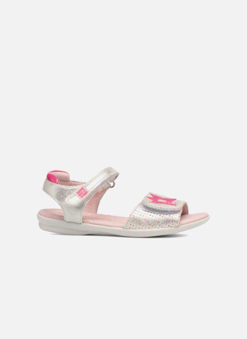 Sandals Agatha Ruiz de la Prada Clever 3 Silver back view