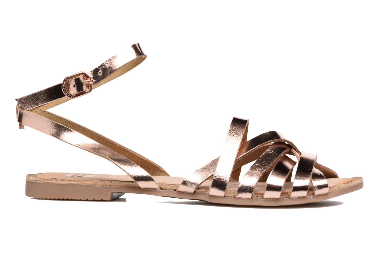 Sandales et nu-pieds Gioseppo Lena Or et bronze vue derrière
