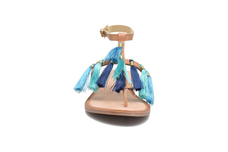 Sandales et nu-pieds Gioseppo Amenti Bleu vue portées chaussures