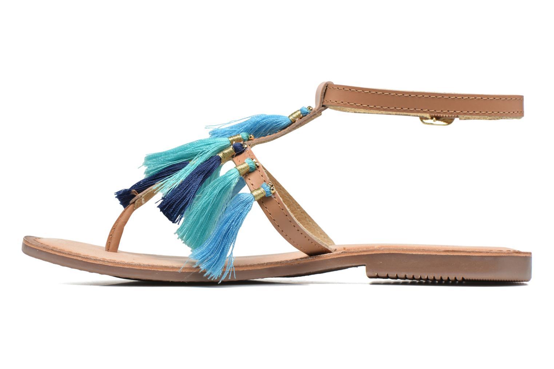 Sandales et nu-pieds Gioseppo Amenti Bleu vue face