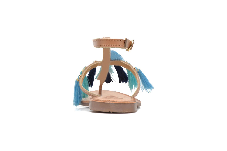 Sandales et nu-pieds Gioseppo Amenti Bleu vue droite