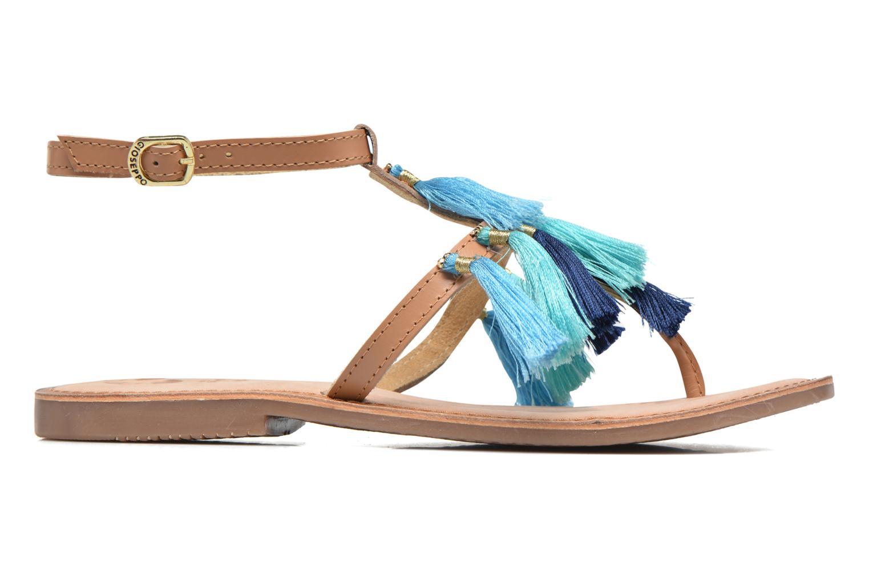 Sandales et nu-pieds Gioseppo Amenti Bleu vue derrière