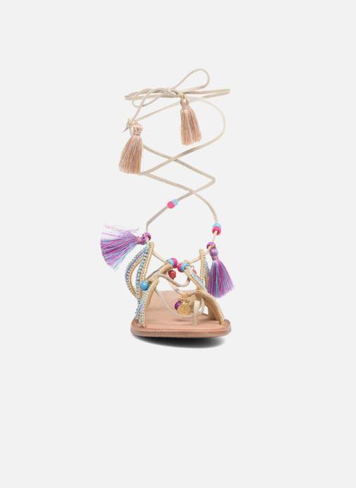 Sandales et nu-pieds Gioseppo Satanta Beige vue portées chaussures