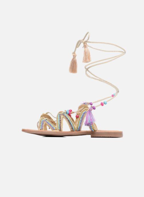 Sandales et nu-pieds Gioseppo Satanta Beige vue face