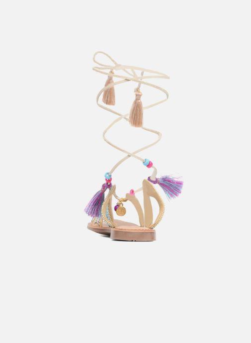 Sandales et nu-pieds Gioseppo Satanta Beige vue droite
