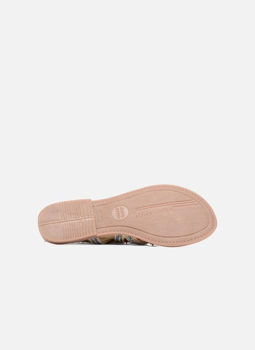 Sandales et nu-pieds Gioseppo Satanta Beige vue haut