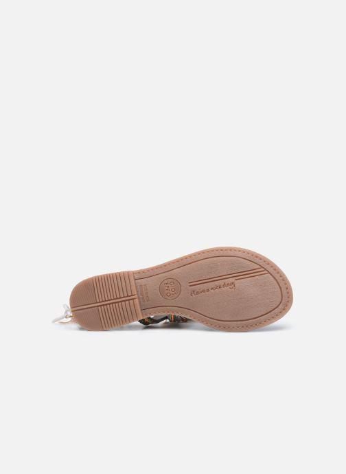 Sandali e scarpe aperte Gioseppo Satanta Grigio immagine dall'alto