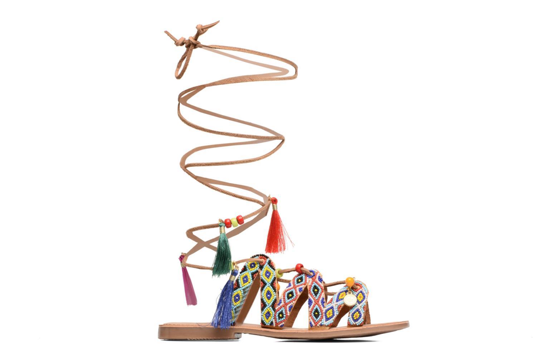 Sandales et nu-pieds Gioseppo Satanta Multicolore vue derrière