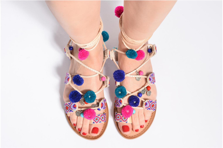 Sandalen Gioseppo New Omahas mehrfarbig ansicht von unten / tasche getragen