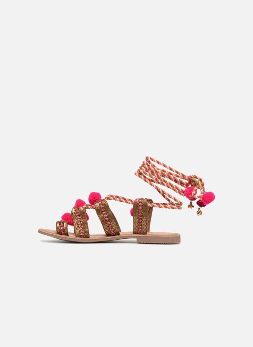 Sandalen Gioseppo Yurak rosa ansicht von vorne