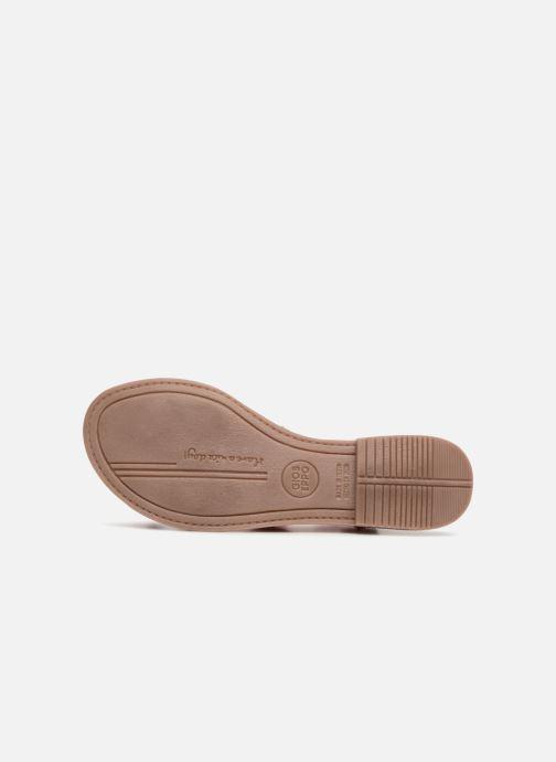 Sandales et nu-pieds Gioseppo Yurak Rose vue haut
