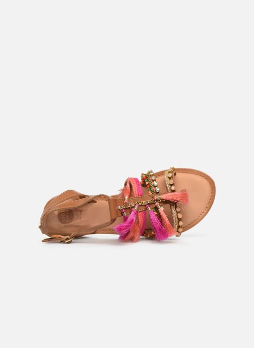 Sandales et nu-pieds Gioseppo Nambi Rose vue gauche
