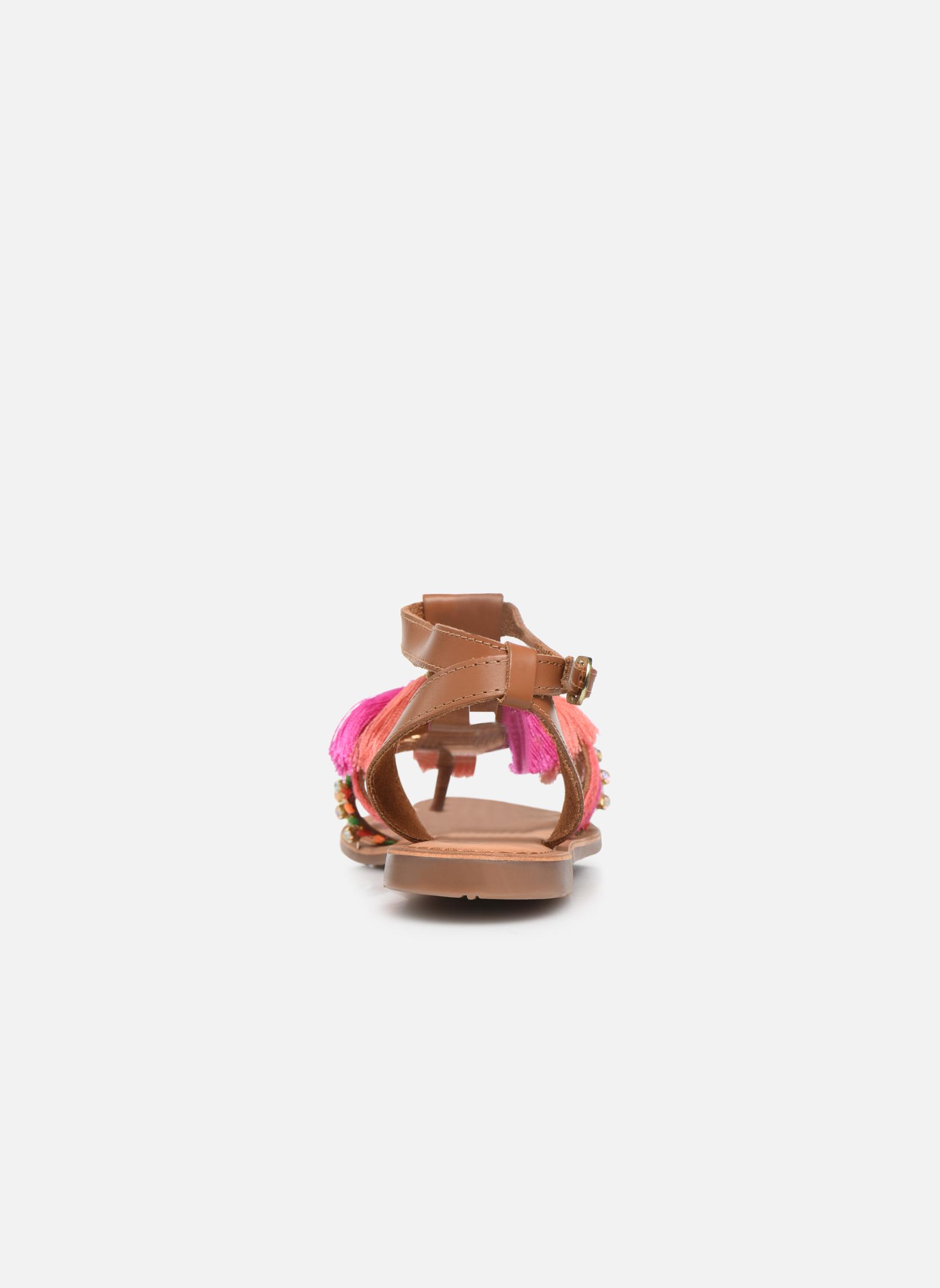Sandales et nu-pieds Gioseppo Nambi Rose vue droite