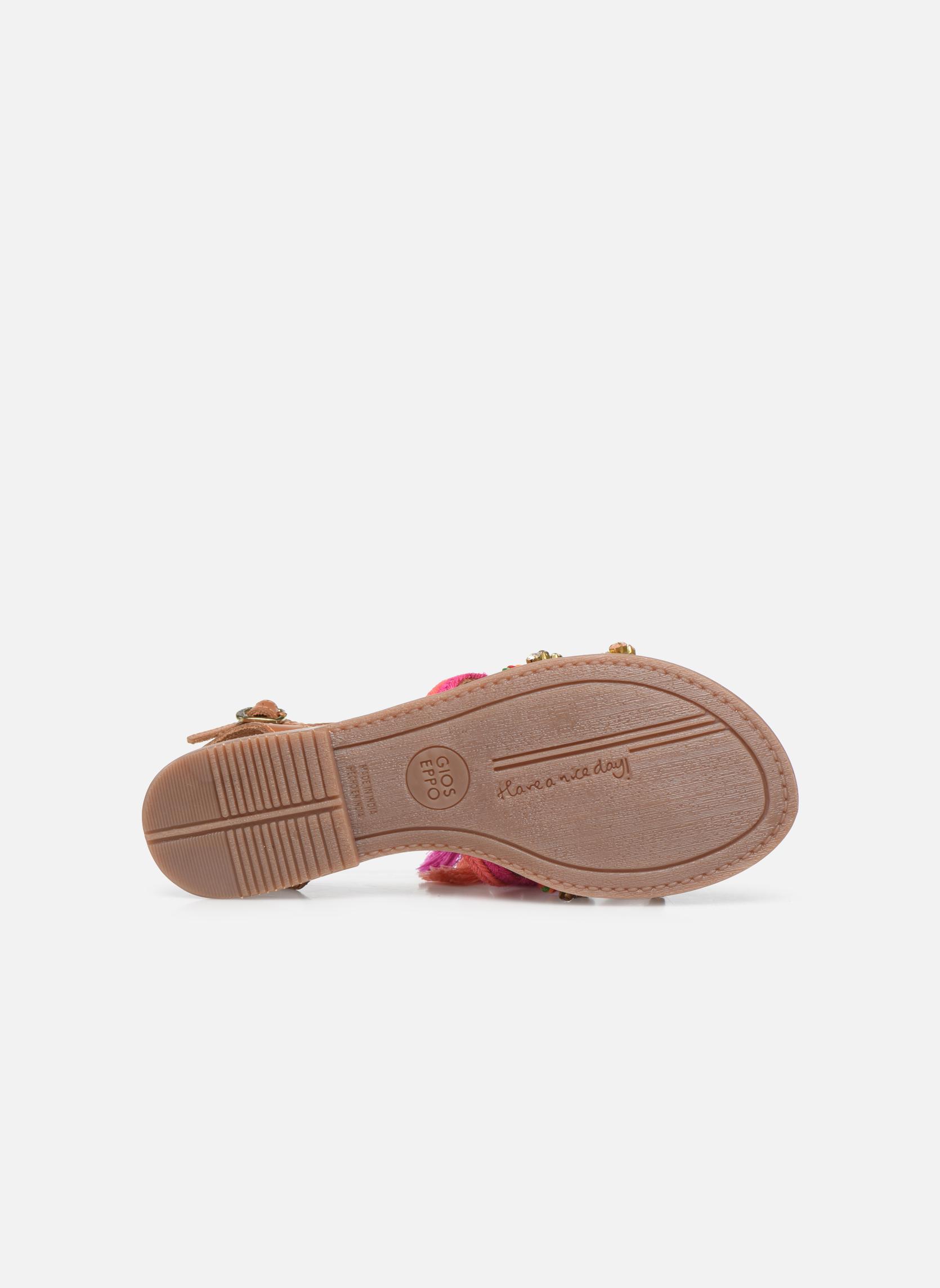 Sandales et nu-pieds Gioseppo Nambi Rose vue haut