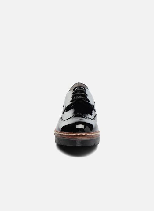 Chaussures à lacets I Love Shoes thalweg Noir vue portées chaussures
