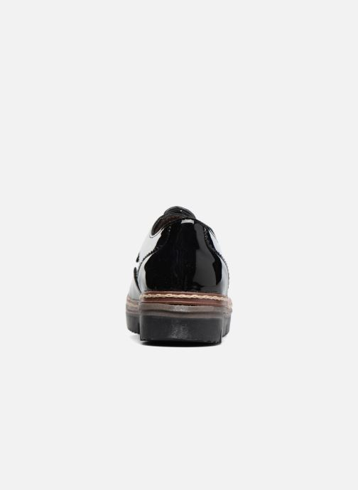 Chaussures à lacets I Love Shoes thalweg Noir vue droite