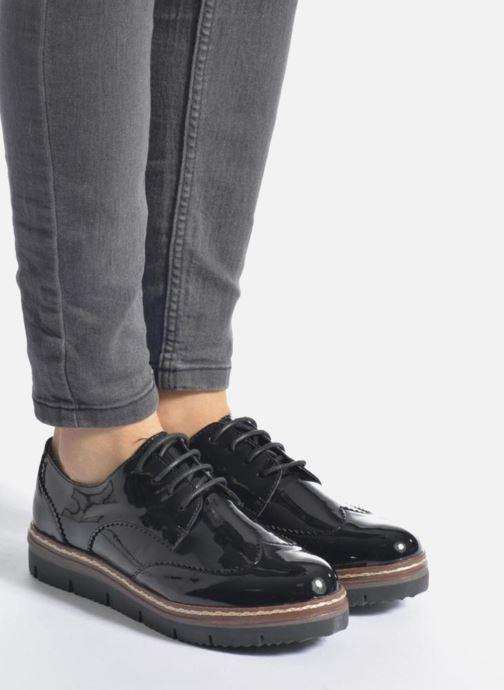 Chaussures à lacets I Love Shoes thalweg Argent vue bas / vue portée sac