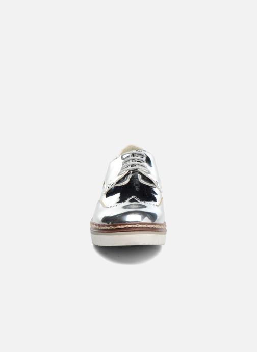 Chaussures à lacets I Love Shoes thalweg Argent vue portées chaussures