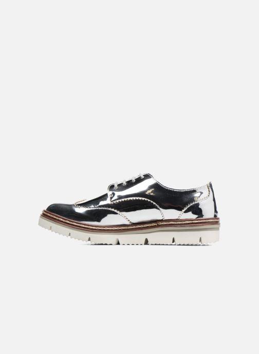 Chaussures à lacets I Love Shoes thalweg Argent vue face