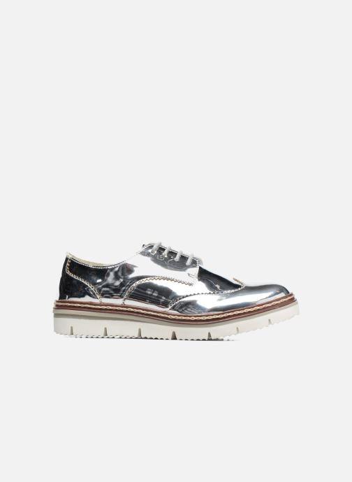 Chaussures à lacets I Love Shoes thalweg Argent vue derrière
