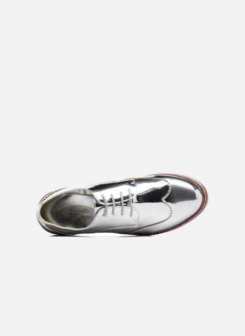 Chaussures à lacets I Love Shoes thalweg Argent vue gauche