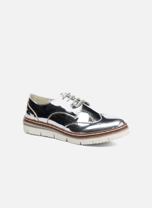 Chaussures à lacets I Love Shoes thalweg Argent vue détail/paire