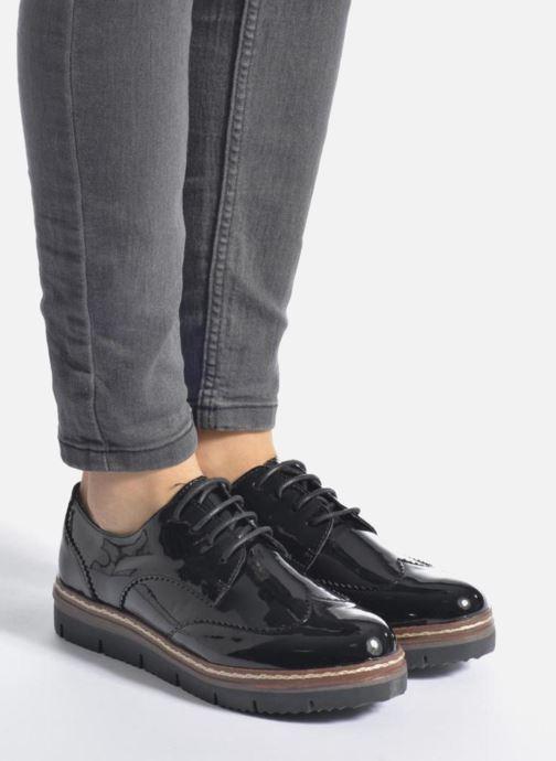 Chaussures à lacets I Love Shoes thalweg Blanc vue bas / vue portée sac