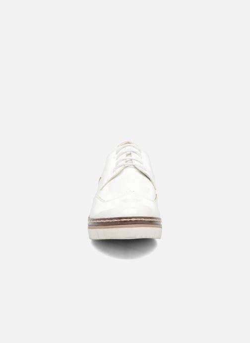 Chaussures à lacets I Love Shoes thalweg Blanc vue portées chaussures
