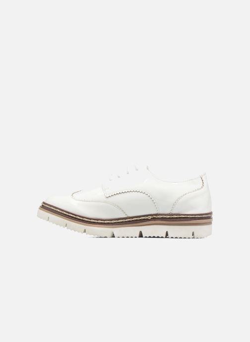Chaussures à lacets I Love Shoes thalweg Blanc vue face