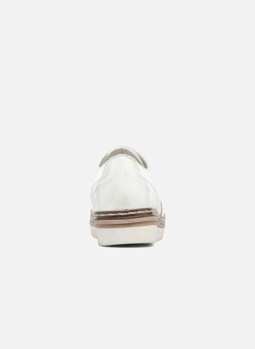 Chaussures à lacets I Love Shoes thalweg Blanc vue droite