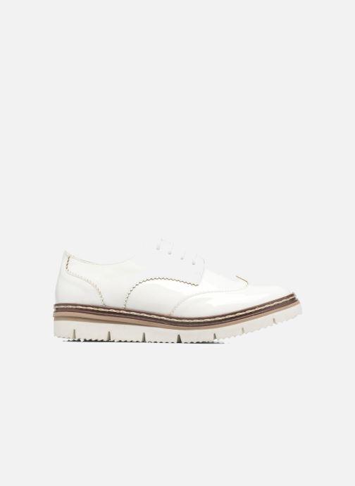 Chaussures à lacets I Love Shoes thalweg Blanc vue derrière