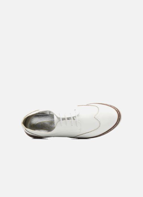 Chaussures à lacets I Love Shoes thalweg Blanc vue gauche